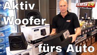 Aktive Subwoofer fürs Auto | Axton AXB20A | AXB25A | AXB20STP | ARS24