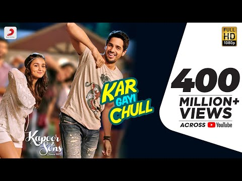 Download Kar Gayi Chull - Kapoor & Sons | Sidharth Malhotra | Alia Bhatt | Badshah | Amaal Mallik |Fazilpuria HD Mp4 3GP Video and MP3