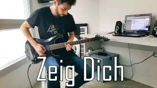 RAMMSTEIN   Zeig Dich Full Guitar Cover [HD]