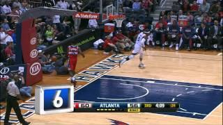Видео. НБА. Топ-10 лучших моментов игрового дня