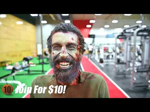 iProv Client Video - 10 Fitness Halloween Zombie Ad