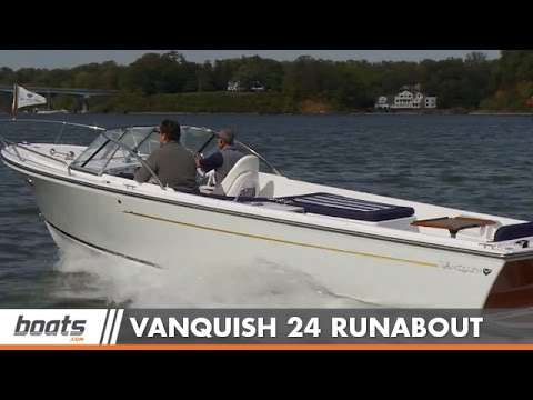 2015 Vanquish 24 Runabout Boat Review / Performance Test