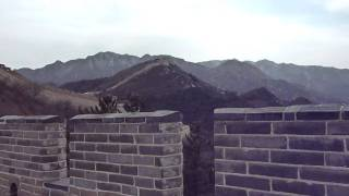 Video : China : Alone on the Great Wall at BaDaLing, BeiJing 北京