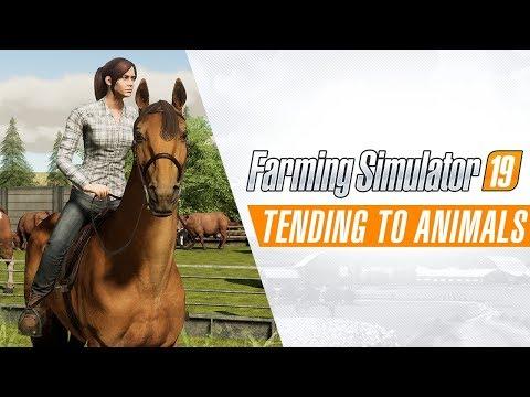 Коротко о животноводстве в свежем трейлере Farming Simulator 19
