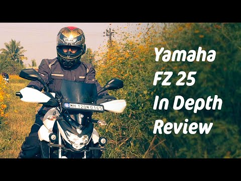 Yamaha FZ25 2018 Detailed Review & Ownership Experience comparison