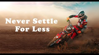 Never Settle For Less - Motivation speech Tony Robbins
