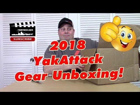2018 YakAttack Kayak Fishing Accessory Unboxing