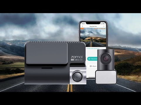 70mai A800: Dual-vision 4K Dash Cam for 24h Guard-GadgetAny