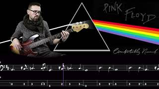 Comfortably Numb   Bass Cover Score And Tab