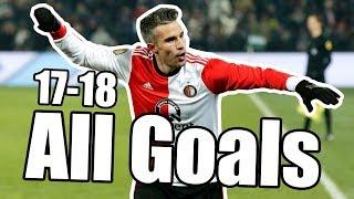 Feyenoord Rotterdam - All Goals 2017-2018