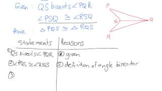 Proving Triangle Congruence (Part 4)