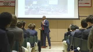 Keynote at Browning High school by Edafe Okporo