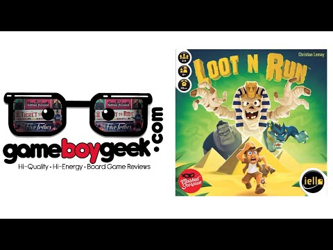 The Game Boy Geek Reviews Loot N Run
