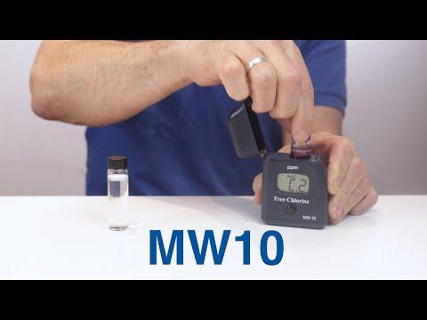 MW10 Medidor de Cloro