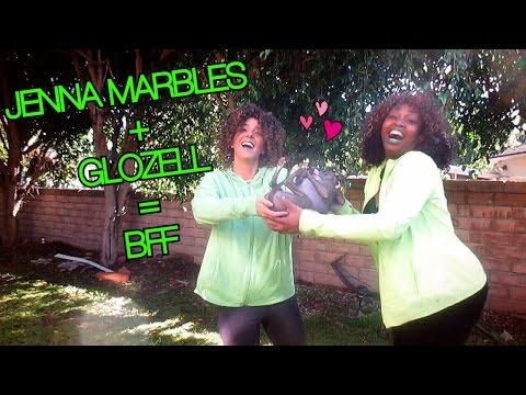 Jenna Marbles + GloZell = BFF