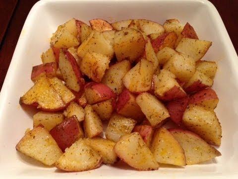 Video Oven Roasted Seasoned Potatoes