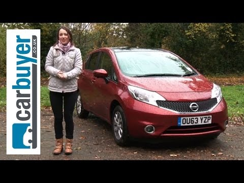 Nissan Note hatchback 2013 review - CarBuyer