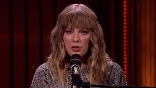 """Jimmy Fallon CRIES During Taylor Swift's """"New Years Day"""" Performance"""