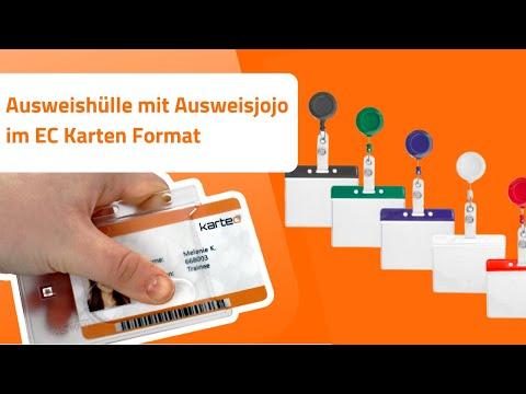 Ausweishülle mit Ausweisjojo im EC Karten Format