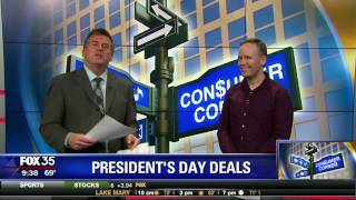 Josh shares some don't-miss President's Day sales on TV