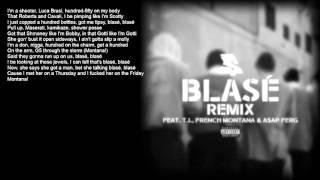 Ty Dolla Sign - Blasé (ft. TI, French Montana, ASAP Ferg) LYRICS HD