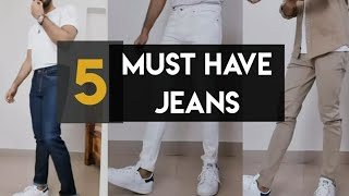 5 Must Have Jeans Pants For Skinny Guys|  Indian Mens Fashion