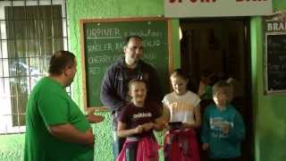 preview picture of video 'Turnaj družstev - ILAVA MINI CUP 2013'