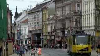 preview picture of video 'Séta Miskolc belvárosában'