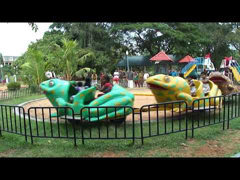 Jumping Frog Amusement Ride