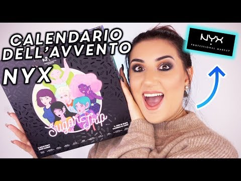 CALENDARIO DELL'AVVENTO NYX PROFESSIONAL MAKEUP 2018 🎁