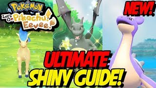 NEW! ULTIMATE SHINY GUIDE in POKÉMON LETS GO PIKACHU and EEVEE! How to get Easy Shiny Pokemon