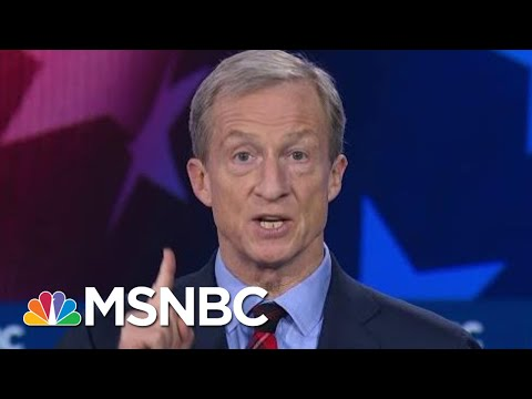 Tom Steyer, Joe Biden, And Bernie Sanders Spar On Climate Change | MSNBC