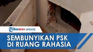 Sebelum Polisi Datang PSK Disembunyikan di Ruang Rahasia, Ruangan Tersembunyi Dibalik Radiator