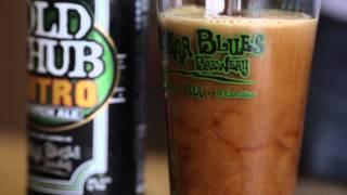 Old Chub Nitro Scotch Ale Pouring