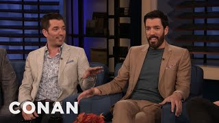 How Drew & Jonathan Scott Became The Property Brothers - CONAN On TBS