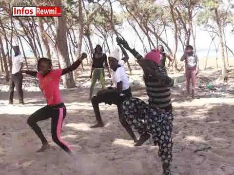 Sabar dancing in Senegal