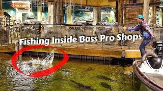 Caught a Bass Inside Bass Pro Shops Pyramid (Ft. Bill Dance)