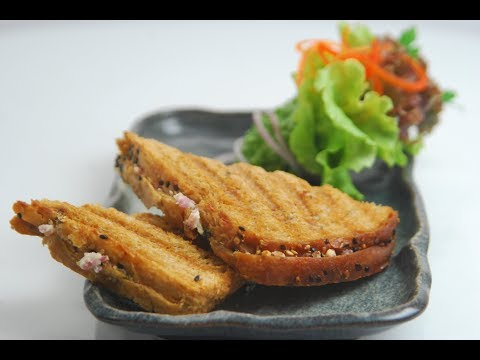 Homemade Paneer Toast | Cooksmart | Sanjeev Kapoor Khazana