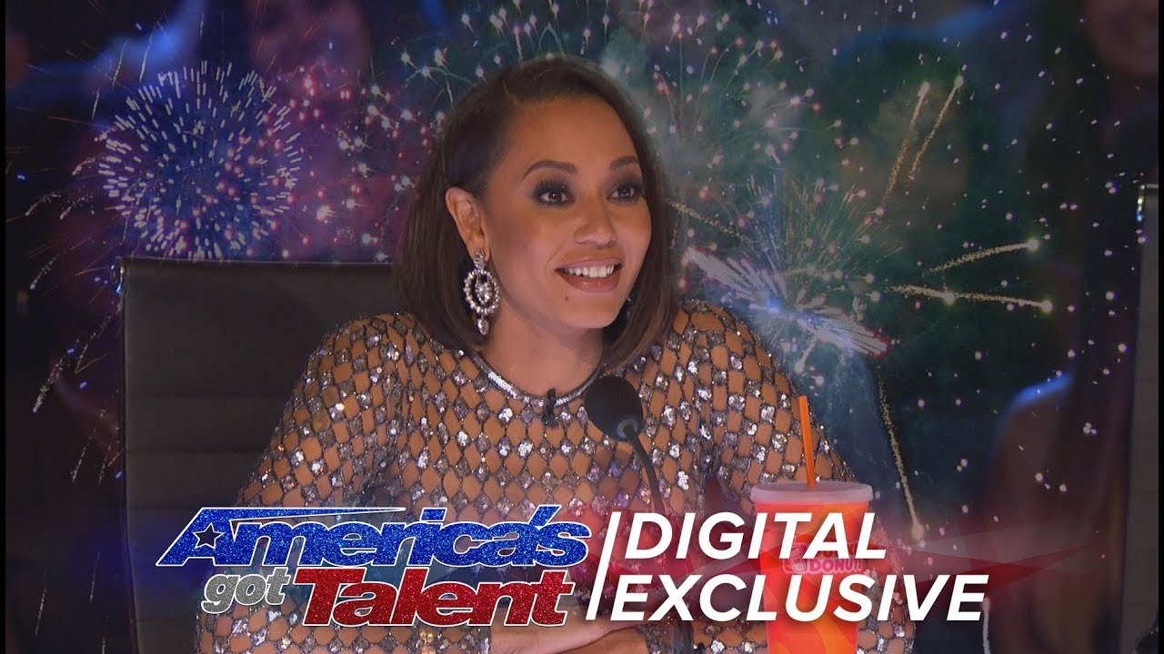 Mel B: Does She Really Know What's Going On At The Judge Desk? - America's Got Talent 2017 thumbnail