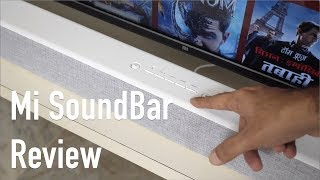 Mi Soundbar Review - Amazing Sound On a Budget