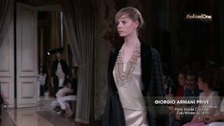 GIORGIO ARMANI PRIVÉ Paris Haute Couture Fall/Winter 2018-19