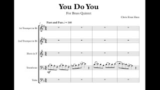You Do You For Brass Quintet (Perusal Score)