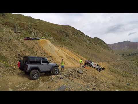 Colorado 4x4 Rescue And Recovery - Radical Hill Rolled Jeep