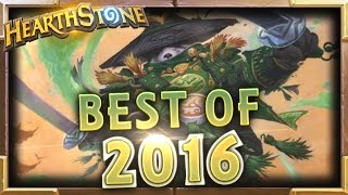 Best Of 2016 | Hearthstone Best 2016 Moments