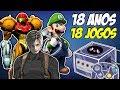 18 Anos 18 Jogos Pra Voce Jogar No Gamecube