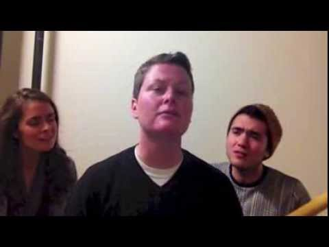 """Wrecking Ball"" - Miley Cyrus (A capella) by Sarah Golden, Aaron Kaufman & Tricia Fox"
