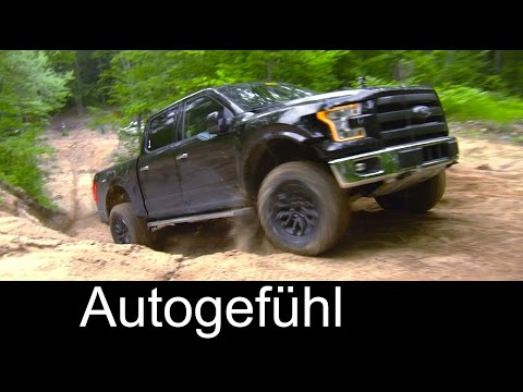 Preview all-new 2017 Ford F-150 Raptor with offroad trail testing - Autogefühl