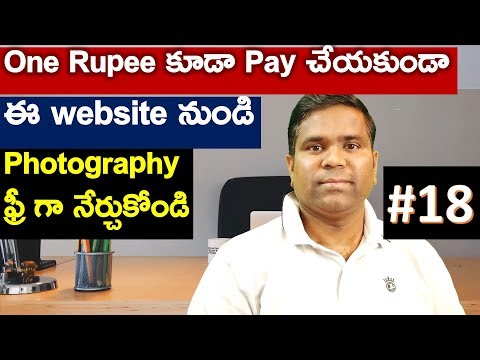 Learn Photography for free with Udemy   H1B Visa Life in USA   Telugu Vlogs from USA