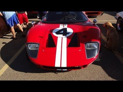Superformance GT40 Start Up & Walkaround at Car Show