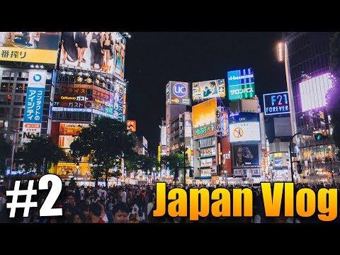 Nejšílenější křižovatka na světě! - Japan Vlog #2